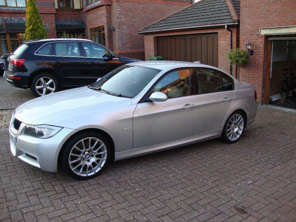2008 bmw 320d m sport edition auto full leather sat nav in radyr cardiff gumtree. Black Bedroom Furniture Sets. Home Design Ideas