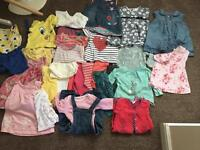 Girls clothes 3-6 months over 60 items