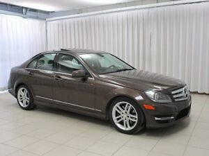 2013 Mercedes-Benz C-Class C300 4MATIC AWD LUXURY SEDAN!