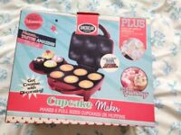 Cupcake Maker plus Icing Kit with nozzles