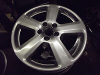 "GENUINE AUDI RS6 18"" alloy wheels reburbished as new"