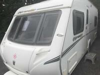 Abbey expression 540 2010 fixed bed touring caravan