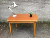 EXTENDABLE MIDCENTURY TABLE FREE DELIVERY RETRO VINTAGE 🇬🇧