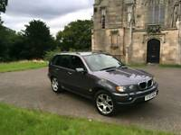 BMW X5 D SPORT MANUAL 3 LITRE TURBO DIESEL VERY RARE MODEL