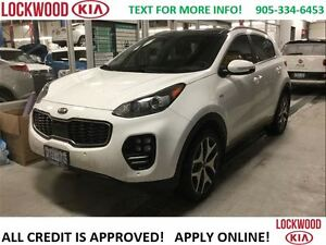 2017 Kia Sportage SX TURBO - DEMO CLEARANCE, FULLY LOADED!!!