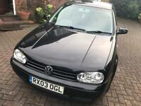 2003 VW Golf MK4 1.6 Auto with Leather Interior