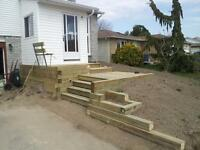 Contractor for Finished basements, renovations, decks, fences +