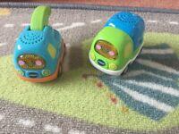 VTech Toot Toot vehicles x2