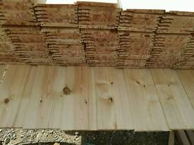Untreated Shiplap 12mm x 120mm