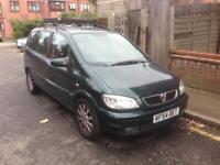 Vauxhall zafira 2.0 DTI automatic 54 plate motd 7 seater £450