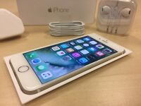 Boxed Gold Apple iPhone 6 16GB Mobile Phone on ee / t mobile / virgin + Warranty