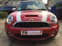 MINI COOPER S , CHILI PACK, 175 BHP, FULL LEATHER, XENONS, PREVIOUS LADY OWNER, FSH