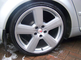 """GENUINE 19"""" AUDI RS ALLOYS WITH 2 FREE TYRES £295"""
