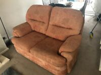 2 x Piece suite for Sale. 2 and 3 seater. Great condition. Perfect for first time buyers.