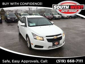 2011 Chevrolet Cruze ECO, MINT, WELL EQUIPPED!!!