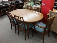 McIntosh Dining Table + 6 Chairs