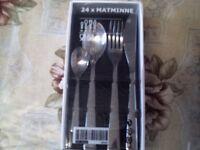 Cutlery set.