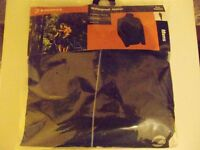 MENS Tenn Active Waterproof Jacket Black (Size: Small or Medium)
