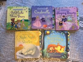 A collection of 5 classic Usborne Books (hard cover)
