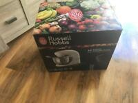 Never used russell hobbs food collection kitchen machine model no 21060