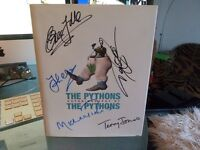 Monty Python FULLY HAND SIGNED x 5 The Pythons Autobiography