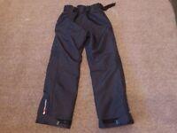 TRESPASS black child's (age 15/ 16) ski trousers