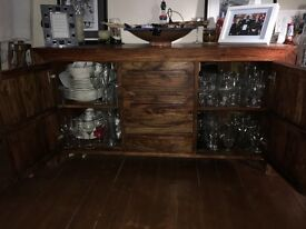 Beautiful contemporary wood sideboard