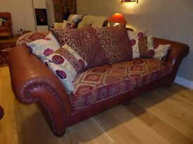 Tetrad 3 seater sofa and matching chair for sale.