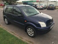 Ford Fusion 2 16v 5 door hatchback 1.4l in immaculate condition