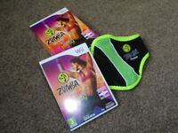 For Sale: WII Zumba Fitness