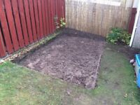 turf, approx. 2m2, free