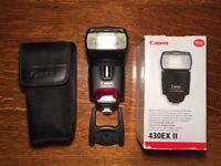 Canon Speedlite 430EX II Flashgun - perfect condition