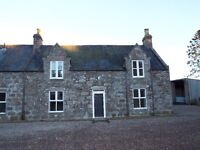Renovated 3 bed Farmhouse in a rural location, excellent road links to Aboyne, Banchory & Aberdeen