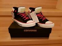 NEW leathers converse in size 5 in box