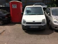 2004 Ford Tran Connect L200 Bi-Fuel Panel Van 1.8L White BREAKING FOR SPARES