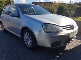 VW GOLF 1.9 TDI MATCH 105K 105BHP . LADY OWNER, FULL SERVICE, (Bmw, audi a3, skoda, seat, vw