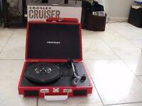 Crosley Cruiser, Retro Vinyl Record Player, Brand New in Box