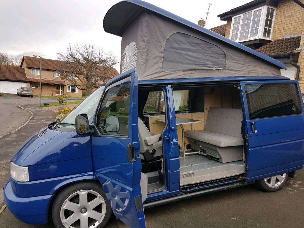 vw t4 camper in highworth wiltshire gumtree. Black Bedroom Furniture Sets. Home Design Ideas