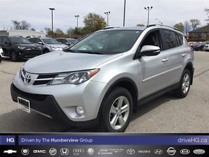 2013 Toyota RAV4 XLE (A6) | NO ACCIDENTS | ONE OWNER | LOCAL |