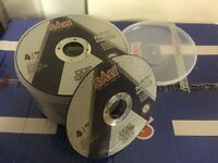 Joblot Thin Metal Cutting Discs Packs of 50 German Engineered BRAND NEW TRADE PRICE