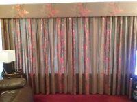 Top quality handmade curtains and pelmet