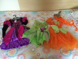 bundle of costumes for girls