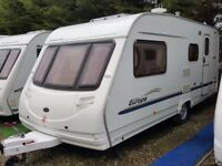 2005 Sterling Europa 520 4 Berth Side Dinette End Washroom Caravan