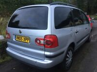 2005 VOLKSWAGEN SHARAN 1.9 TDI PD 130BHP+11 MONTH +SERVICE HISTORY+TIMING BELT REPLACED+BARGAIN!!!