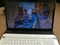 "Sony vaio laptop 17.3"" in excellent condition win 10 6GB 64-bit big screen"
