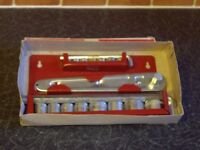 AS NEW 19 PIECE SOCKET WRENCH SET .