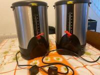 Hot water boilers sold as pair or separately