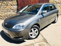 TOYOTA COROLLA T3 1.4 5 DOOR,FULL SERVICE HISTORY,12 MONTHS MOT,HPI CLEAR,GOOD CONDITION OVERALL