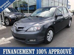 2009 Mazda Mazda3 Sport GX **44$/SEM*FINANCEMENT 100% APPROUVÉ**