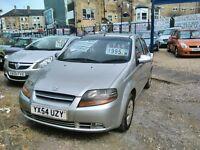 2004 daewoo kalos 1150 cc petrol ideal first car full MOT full history 5 door hatch back